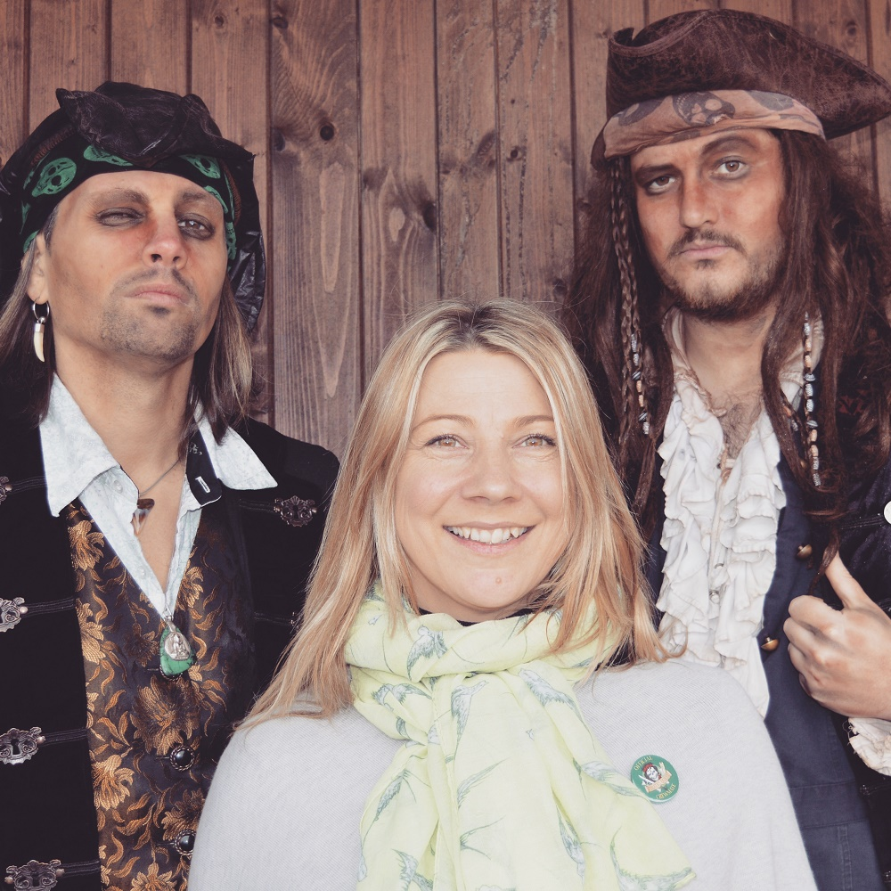 L-R-Captain-Howell-Davies-Nikki-Smith-Captain-Calico-Jack English Tourism Week 2020