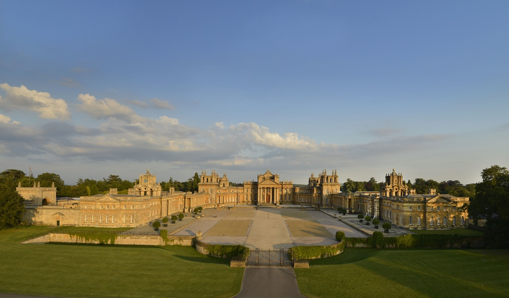 Blenheim-Palace-North-Front-Great-Courtyard-Park-and-Gardens Sunrise Walk Exceeds All Expectations Raising £10k for SeeSaw Charity