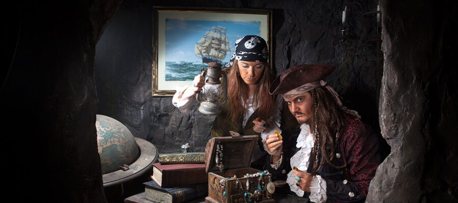 Discover Pirate's Cove at Pirate's Quest, Newquay, Cornwall