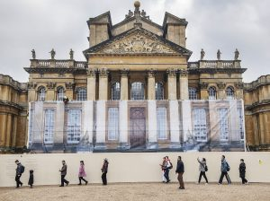 Blenheim-Palace-Under-Wraps-1-300x224 Major Restoration Project at Blenheim Palace