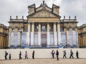 Blenheim-Palace-Under-Wraps-1-300x224 Blenheim Palace under wraps