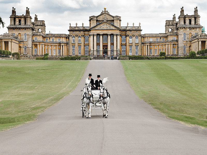 Horse Top Tips for Planning a Summer Wedding from Blenheim Palace