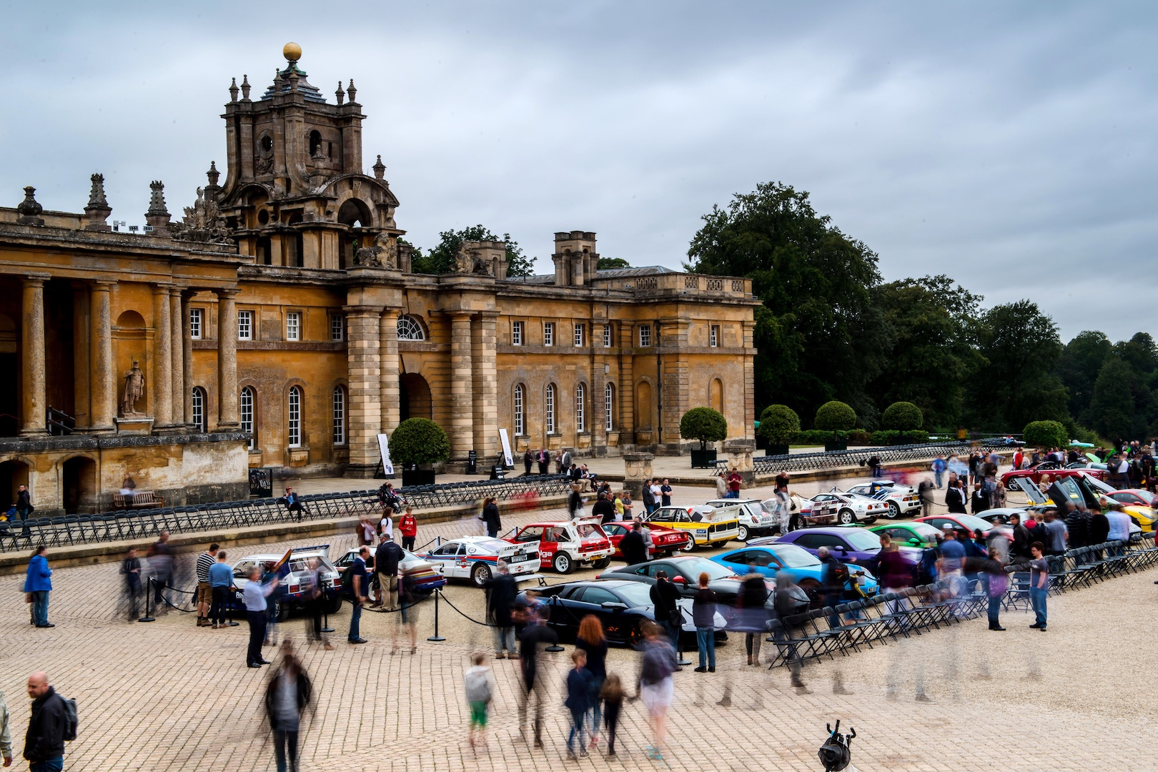 Blenheim Palace Classic Amp Supercar Flamingo Marketing