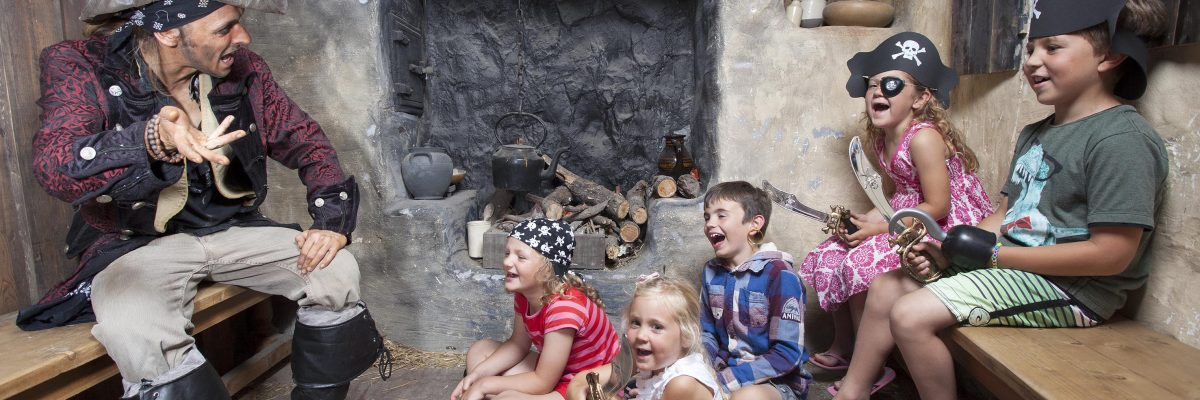 Little Crew Mates at Pirate's Quest, Newquay