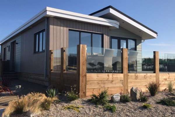 Luxury Lodges at Holywell Bay's New Gull Rocks Beach Development