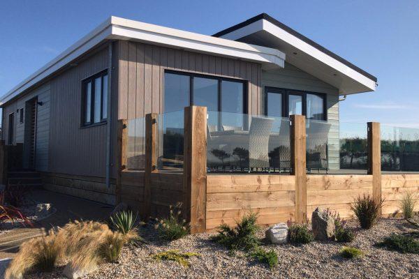 Luxury Lodges at Holywell Bay's New Gull Rocks Beach Development