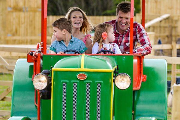 Tractor Ride Fab Feb
