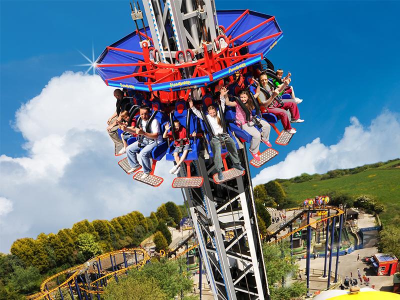 Skyraker-at-Flambards-Theme-Park-Helston-Cornwall Flambards Confirms Re-opening